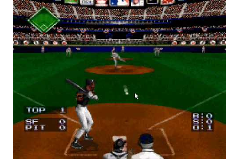 Ken Griffey Jr.'s Winning Run (SNES) Gameplay - YouTube