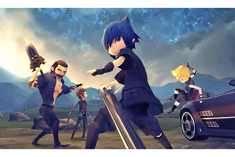 Wait, 'Final Fantasy XV Pocket Edition' is actually fun?