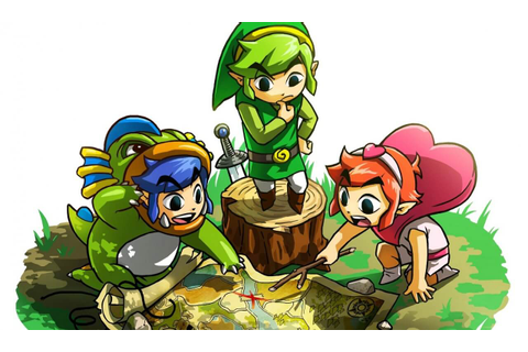 The Legend of Zelda: Tri Force Heroes - Cane and Rinse