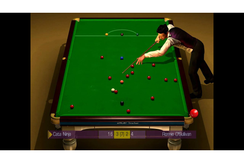 WSC Real 2009 - World Snooker Championship final - YouTube