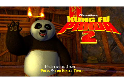 Kung Fu Panda 2: The Video Game Title Screen (Xbox 360 ...