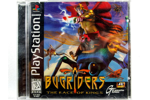 Bugriders PS1 Game For Sale | DKOldies