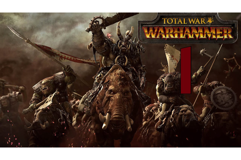 Total War: WARHAMMER | Orcos #1 - YouTube