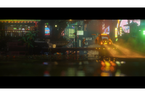 The Last Night looks like a pixelated Blade Runner (update ...