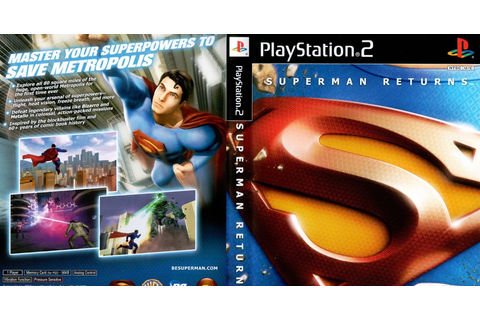 Download Game Superman Returns - The Video Game PS2 Full ...