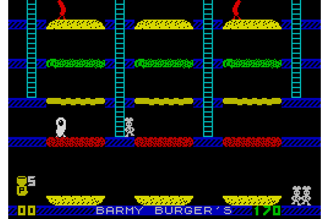 Barmy Burger's | Top 80's Games