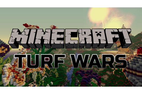 Minecraft: Turf Wars Mini-Game w/Master! - YouTube