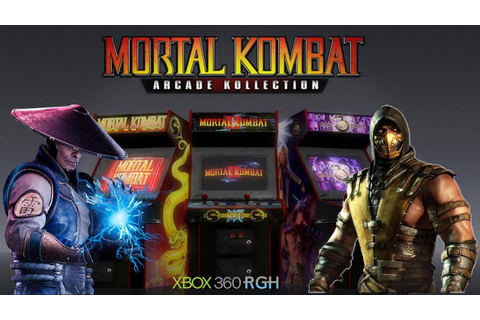 GAME MORTAL KOMBAT ARCADE KOLLECTION XBOX 360 RGH - YouTube