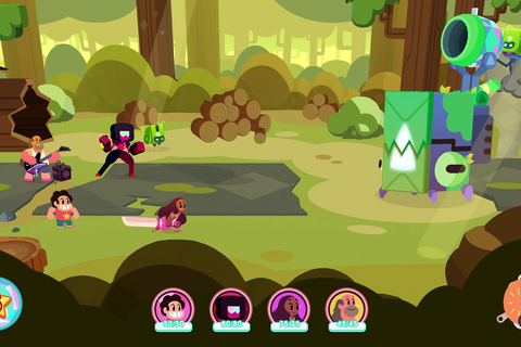 Steven Universe: Save the Light is a game by fans, but it ...
