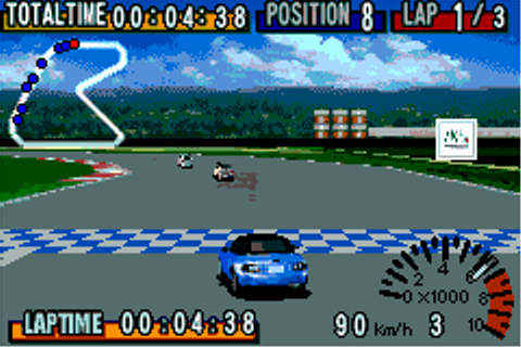 GT Advance Championship Racing (2001) by MTO GBA game
