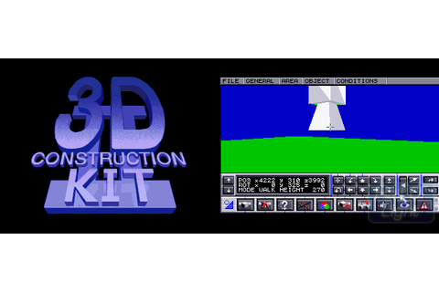 3D Construction Kit II : Hall Of Light – The database of Amiga games