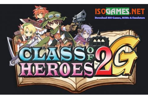 Class of Heroes 2G ISO PS3 - ISo Games