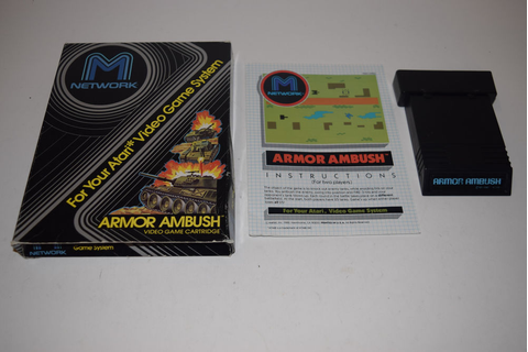 Armor Ambush Atari 2600 Game Complete Tested M Network | eBay
