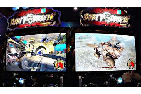Dirty Drivin' Off-Road Racing Monster Truck Arcade Game ...