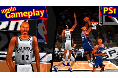 NBA ShootOut 2004 ... (PS1) - YouTube