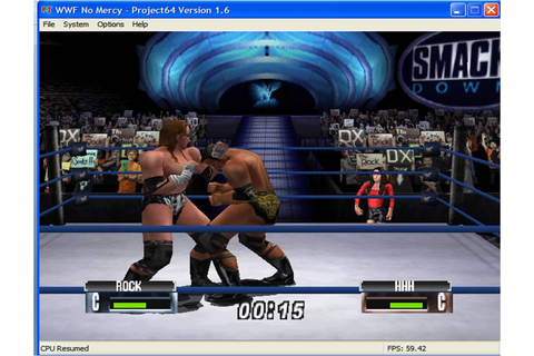 Download Smack Down WWF No Mercy 64 | Download game gratis