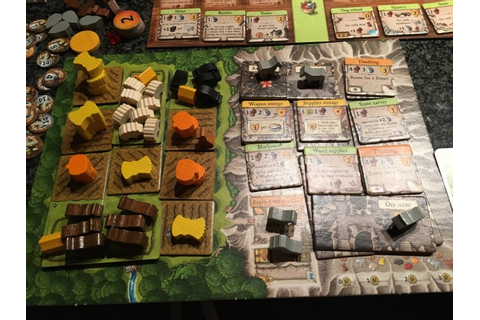 Caverna: The Cave Farmers – broom's blog
