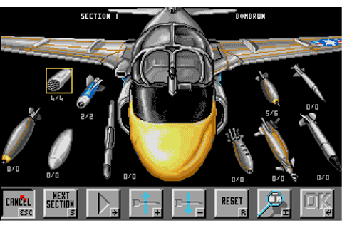 Flight of the Intruder Screenshots for Amiga - MobyGames