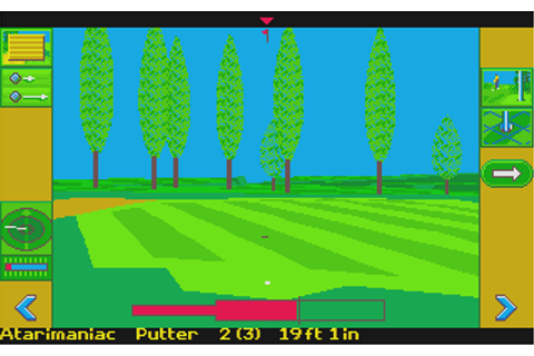 Atari ST Microprose Golf : scans, dump, download ...