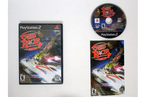 Speed Racer Video Game game for Playstation 2 (Complete ...