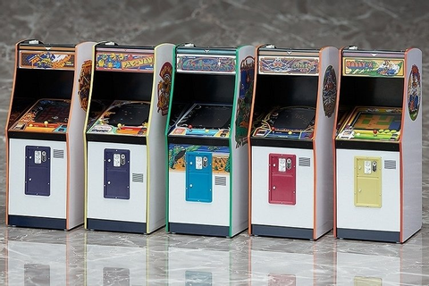 Namco Arcade Machine Collection Gives Action Figures ...