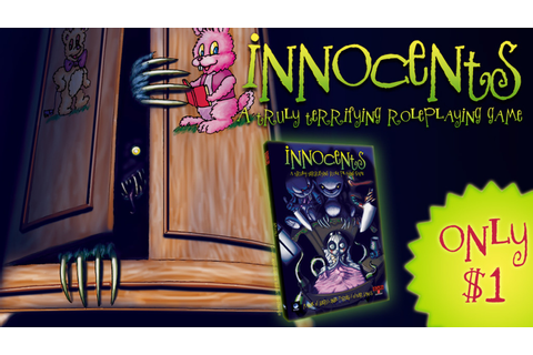 Innocents, a truly terrifying roleplaying game by Stewart ...