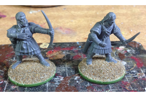 The Gamer's Table: Conquest Games Medieval Plastic Archers ...