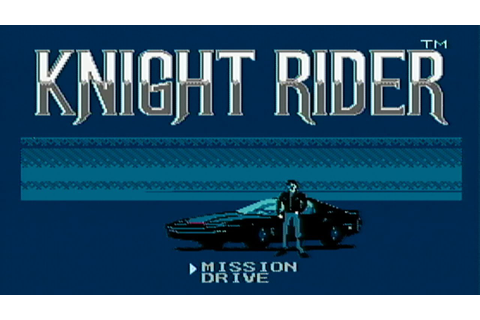Knight Rider - NES Gameplay - YouTube