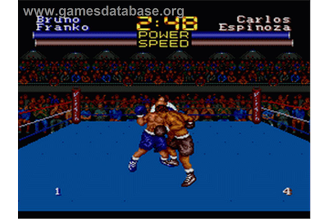 Muhammad Ali Heavyweight Boxing - Sega Genesis - Games ...