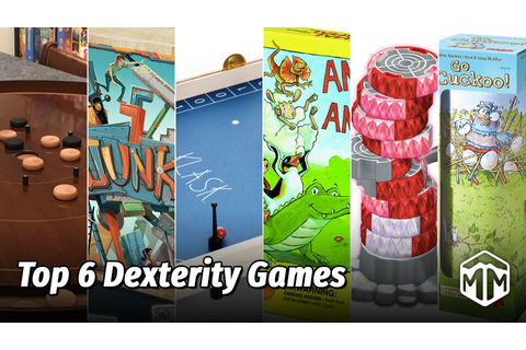 Top 6 Dexterity Games | Meeple Mountain