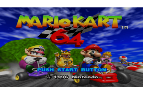 Mario Kart 64 Review - Find Your Inner Geek