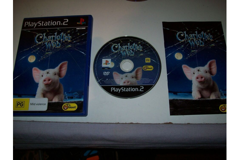 "Charlottes Web ""Great PS2 Game"" 