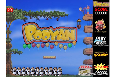 Download Pooyan & Play Free | Classic Retro Games