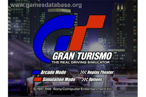 Gran Turismo / Motor Toon Grand Prix 2 - Sony Playstation ...