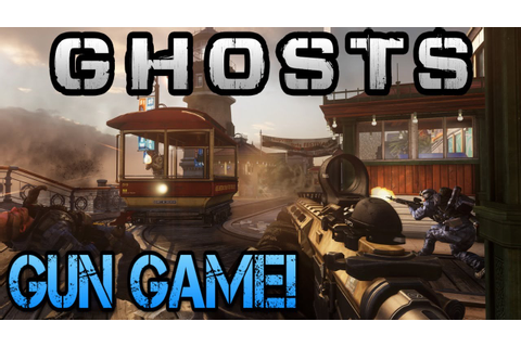 """COD Ghosts"" SICK GUN GAME GAMEPLAY (Patch Notes/Onslaught ..."