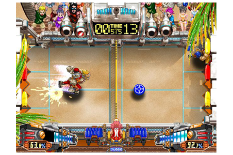 VICBENGAMES: Crazy Power Disc = Windjammers 2