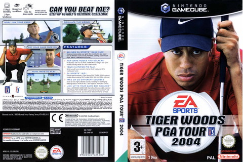 Tiger Woods PGA Tour 2004 (Disc 1) ISO