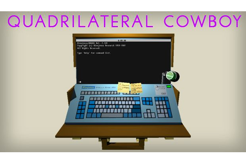 Quadrilateral Cowboy Free Download PC Games | ZonaSoft
