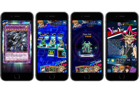 Konami's popular trading card game Yu-Gi-Oh! Duel Links ...