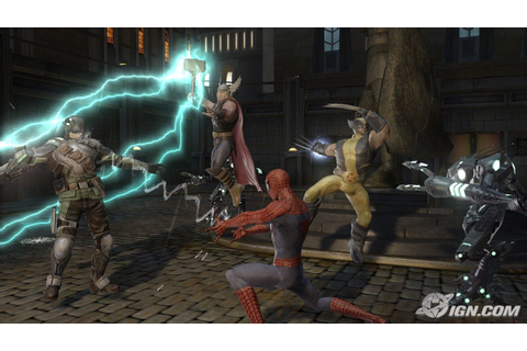 Marvel: Ultimate Alliance 2 Screenshots, Pictures ...