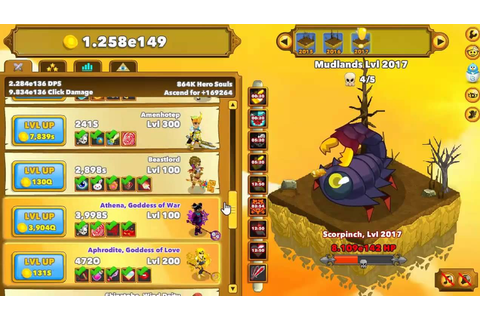 Clicker Heroes - The Late Game - Level 2000 Ascension & 1 ...