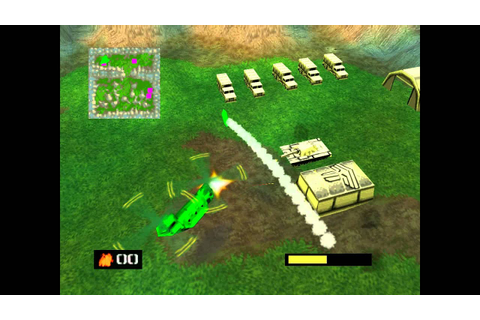 Army Men Air Attack N64 Gameplay - YouTube