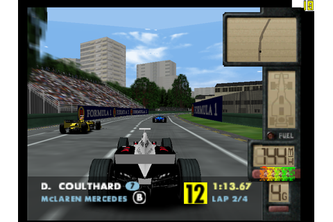 F-1 World Grand Prix II Screenshots | GameFabrique