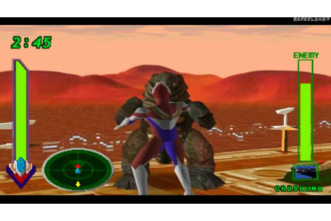 Ultraman Tiga & Ultraman Dyna:New Generations PS1 (Part 11 ...