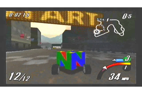 Top Gear Overdrive N64 gameplay part 2 - YouTube