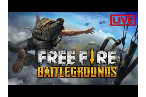Free Fire Battle Ground on Android Live in Hindi - YouTube