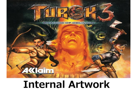 Turok 3: Shadow of Oblivion N64 video game case | Game ...