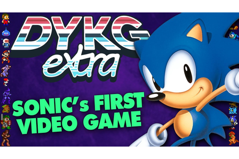Sonic's First Game Wasn't His Own - Did You Know Gaming ...