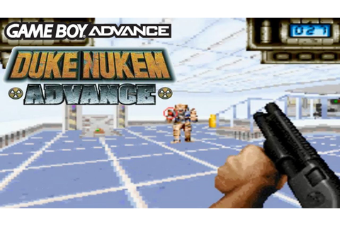 Review and Gameplay - DUKE NUKEM ADVANCE - GBA - 1080HD ...