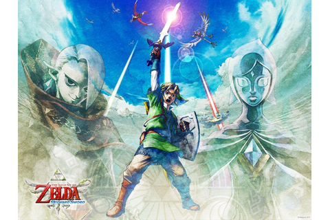 Legend Of Zelda Skyward Sword Wallpapers - Wallpaper Cave